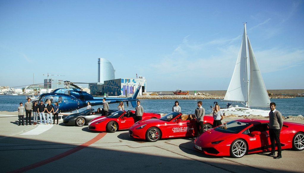 Corporate Events supercars helicopter and yacht 3 1024x585 1024x585