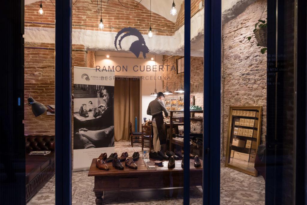 romero.barcelona y Ramon Cuberta: un zapatero con alma.