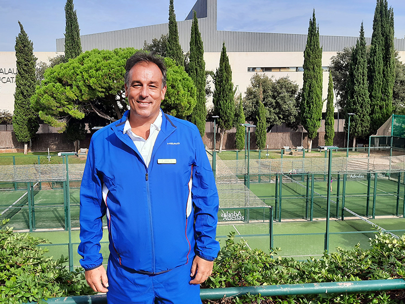 Entrevista a Jordi Vila. Coordinador del Pádel en David Lloyd Club Turó